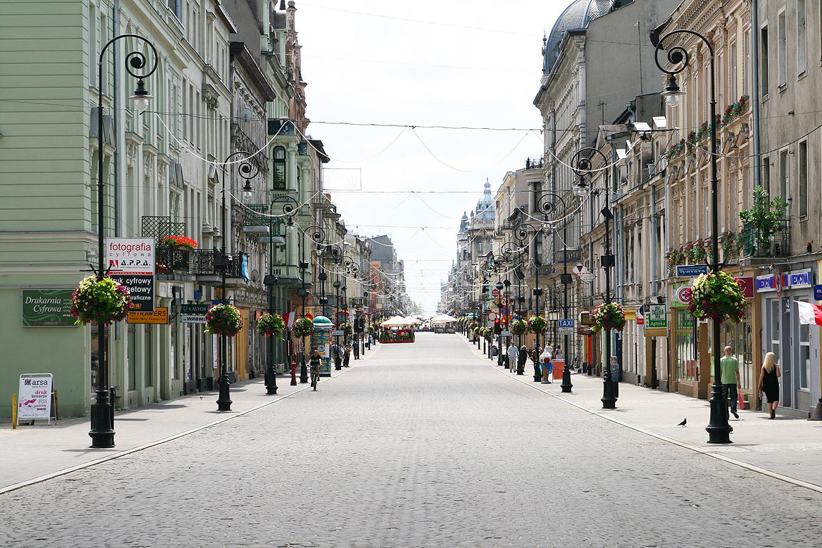 Ulica Piotrkowska w Łodzi – od atrakcji po noclegi - Noclegi Centrum Łodzi